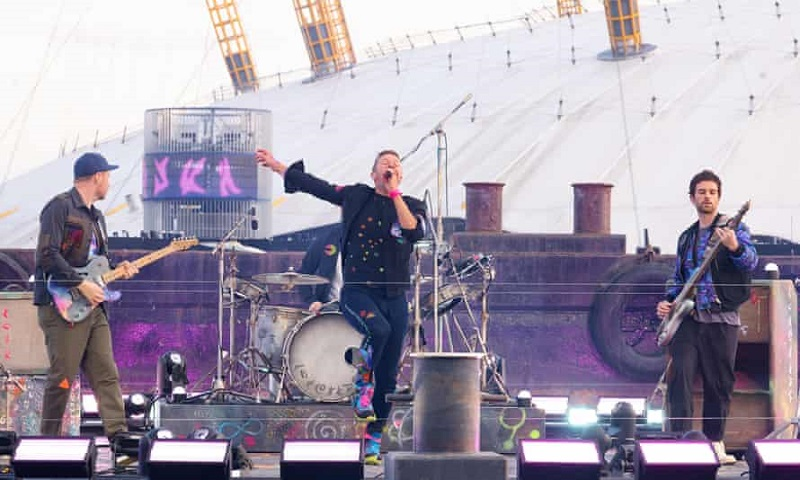 Cerminan Video Resmi, Coldplay Semarakkan Pentas BRIT Awards 2021