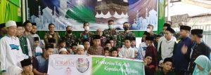 Forum Wartawan Hiburan Gandeng TNI-AU: Baksos di 3 Panti Asuhan