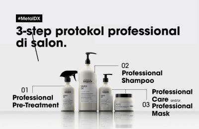 Metal DX, Terobosan Inovatif L'Oréal Professionnel