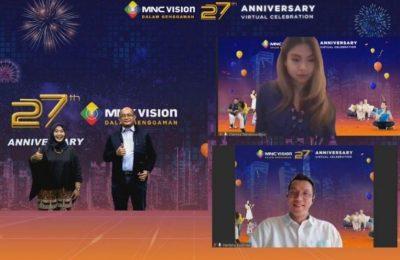 Usia 27 Tahun: MNC Vision Tetap Andalan dan Makin Manjakan Para Pelanggan