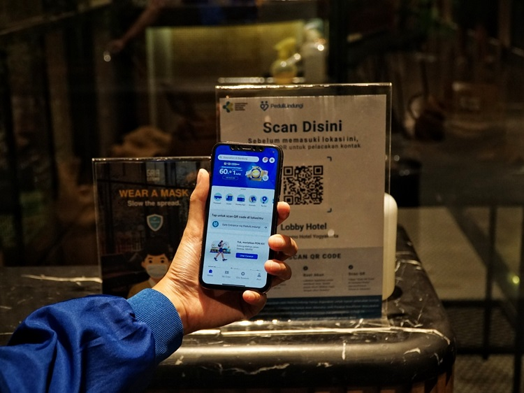 """tiket.com Terhubung dengan """"PeduliLindungi"""""""