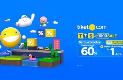 """tiket.com Gelar """"Ten Ten Sale"""""""